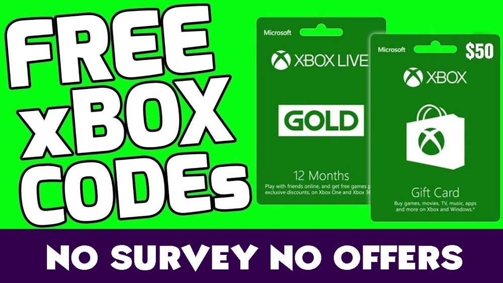 Xbox codes 48 hour free live 48 hours