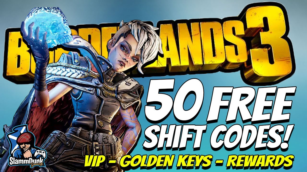 Borderlands Shift Codes